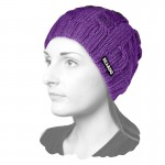 Knit Houdini Beanie Purple