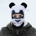 Panda facemask with ears